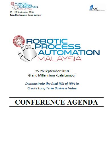 RPA Malaysia Summit 2018 Brochure