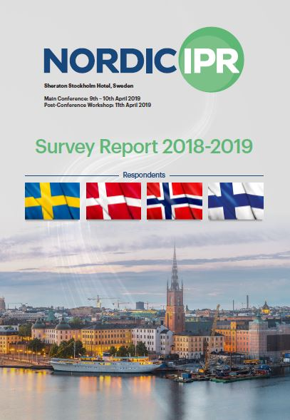 Nordic IPR Survey Report 2018 - 2019