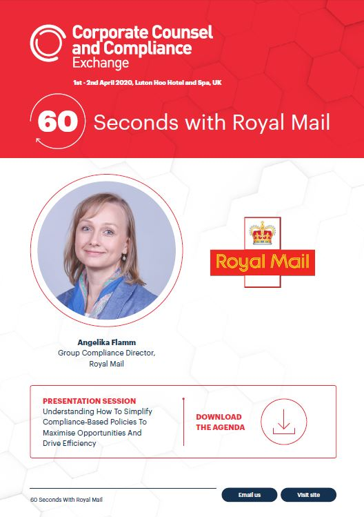 60 Seconds With Royal Mail