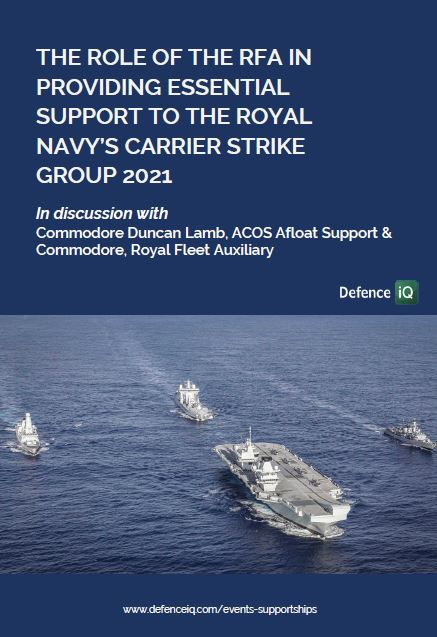 The role of the RFA in providing essential support to the Royal Navy's Carrier Strike Group 2021