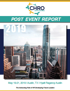 2019 CHRO May Post Event Report