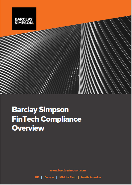 Barclay Simpson: FinTech Compliance Overview