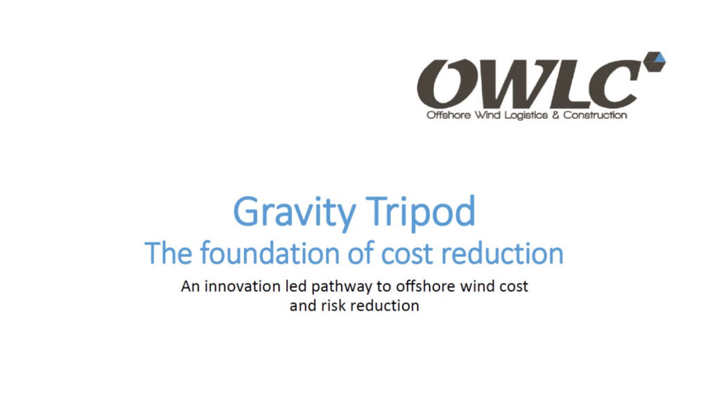 OWLC Presentation on Gravity Tripod: The Foundation of Cost Reduction