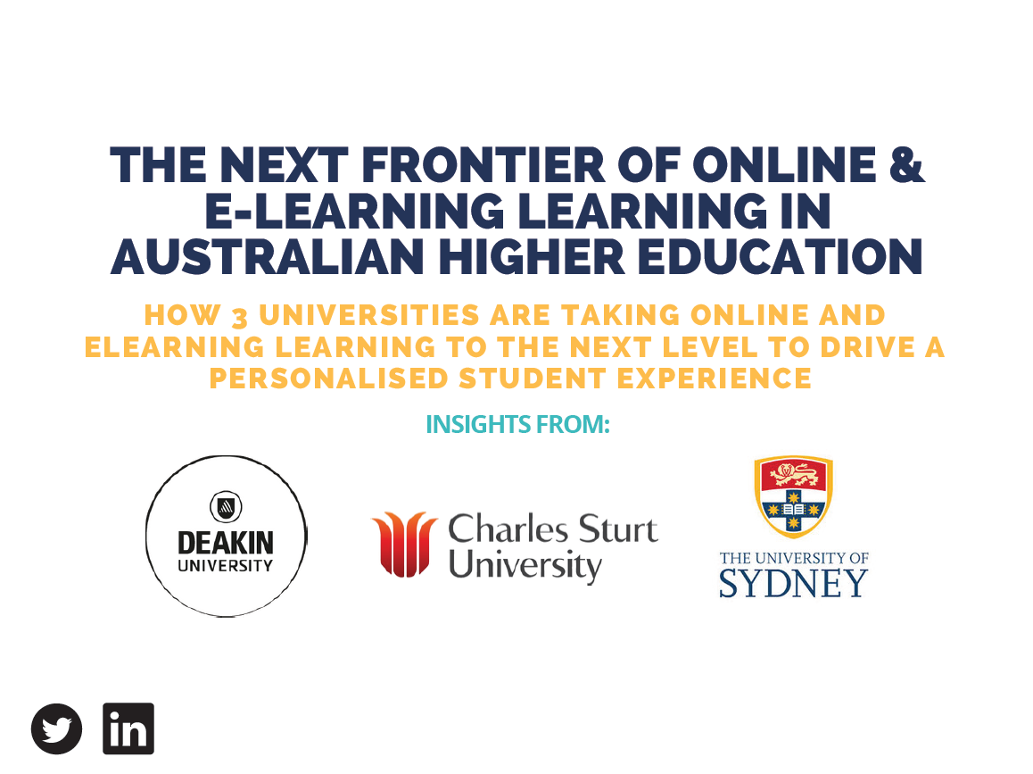 The Next Frontier of online learning in Australian Higher Education