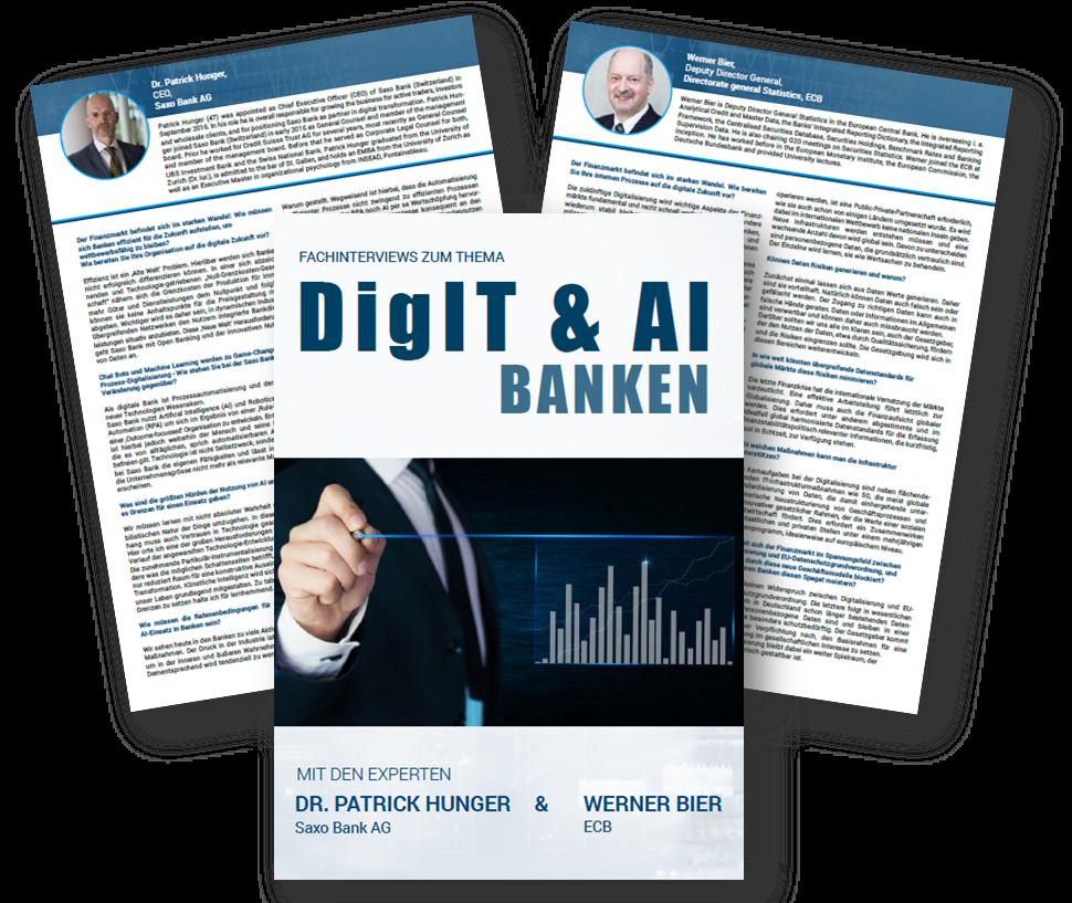 Saxo Bank und European Central Bank | Experteninterviews zum Thema DigIT & AI Banken