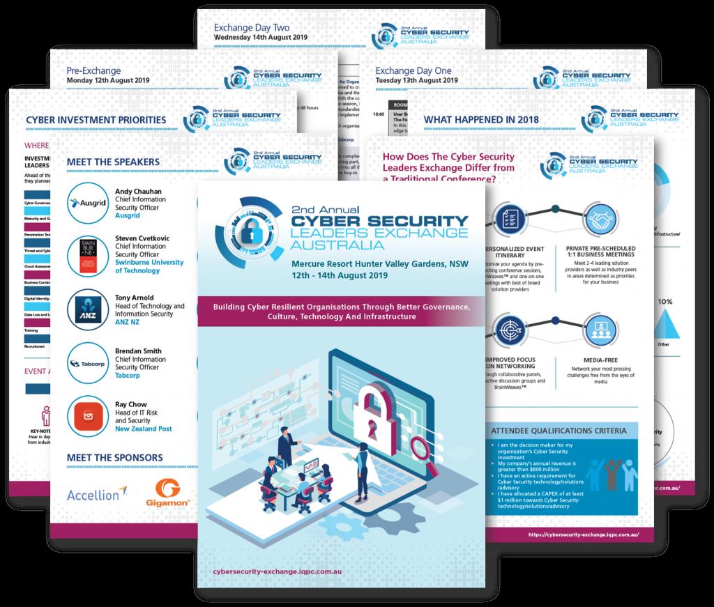 Cyber Security Leaders Exchange 2019 - Agenda