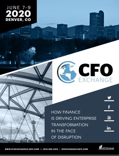 CFO Exchange June 2020 Sponsorship Brochure