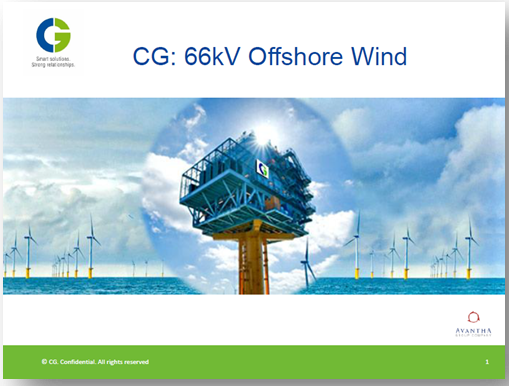 CG Holdings: Substation and components changes