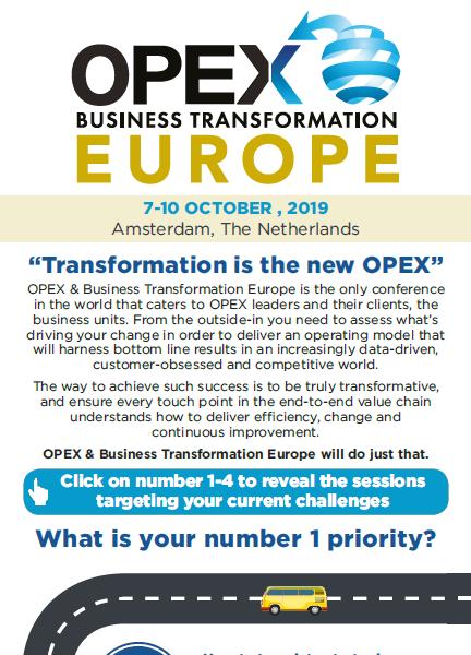 OPEX & Business Transformation Europe - spex - Preliminary Agenda