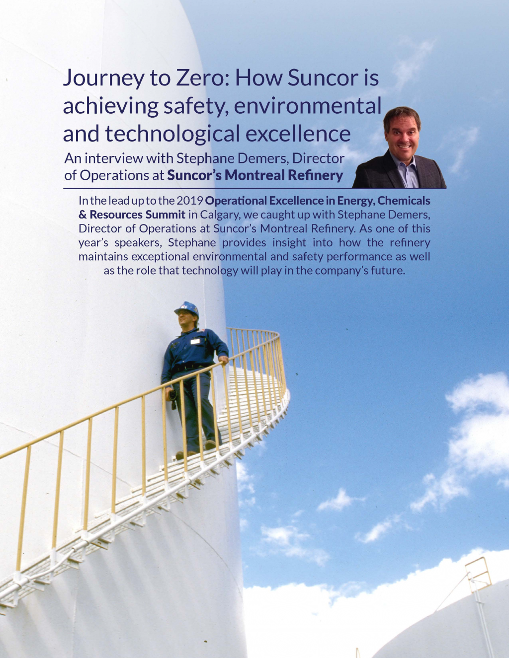 Journey to Zero: How Suncor is achieving safety, environmental and technological excellence