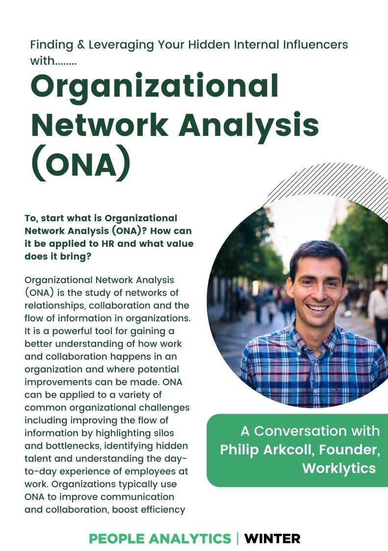 Uncover & Activate Hidden Talent with Organizational Network Analysis (ONA)