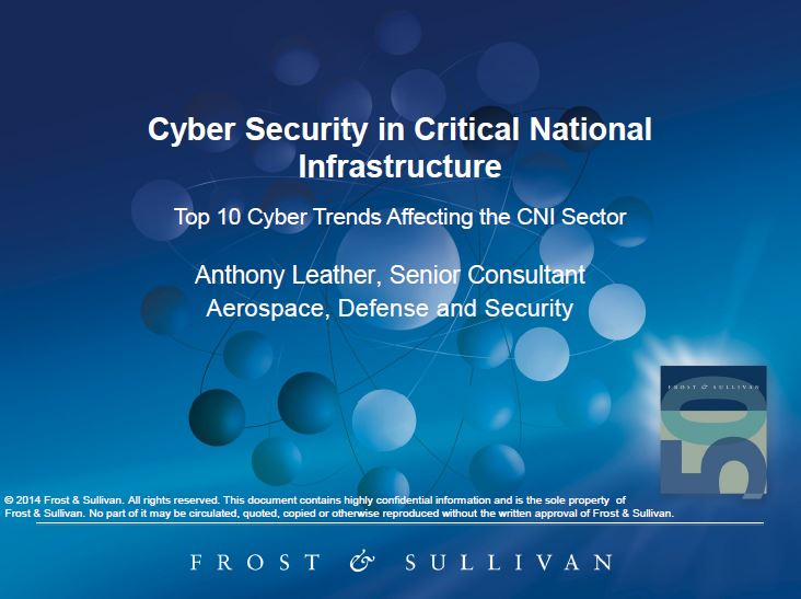 The Top 10 Cyber Trends Affecting the CNI Sector