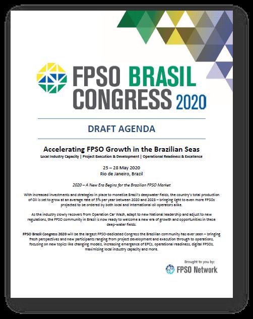 View Preliminary Agenda - FPSO Brasil Congress 2020