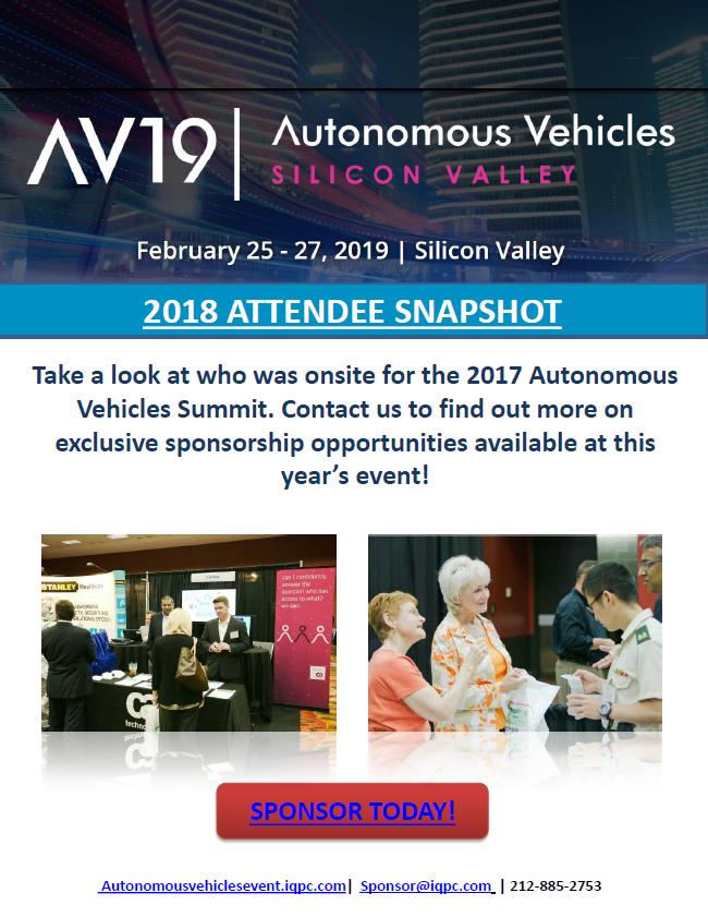 Autonomous Vehicles Attendee Snapshot