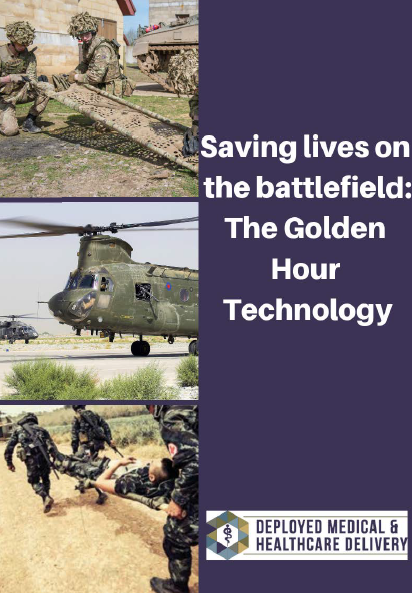 Saving lives on the battlefield: The Golden Hour Technology