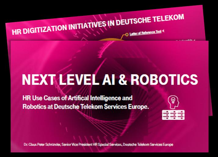 HR use Cases of Al & Robotics at Deutsche Telekom Services Europe