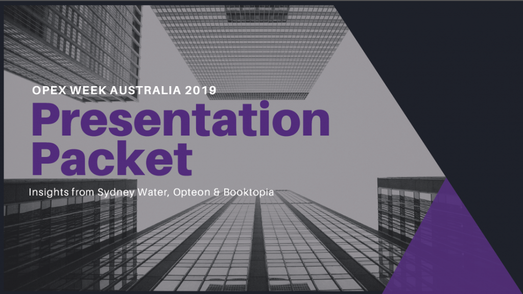OPEX Week Australia - Presentation Packet