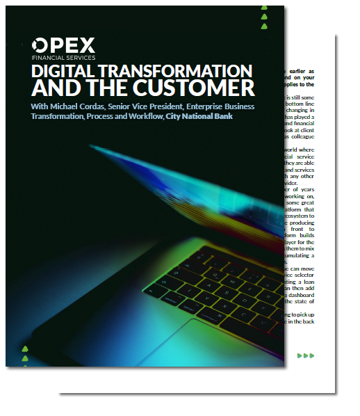 Digital Transformation and the Customer