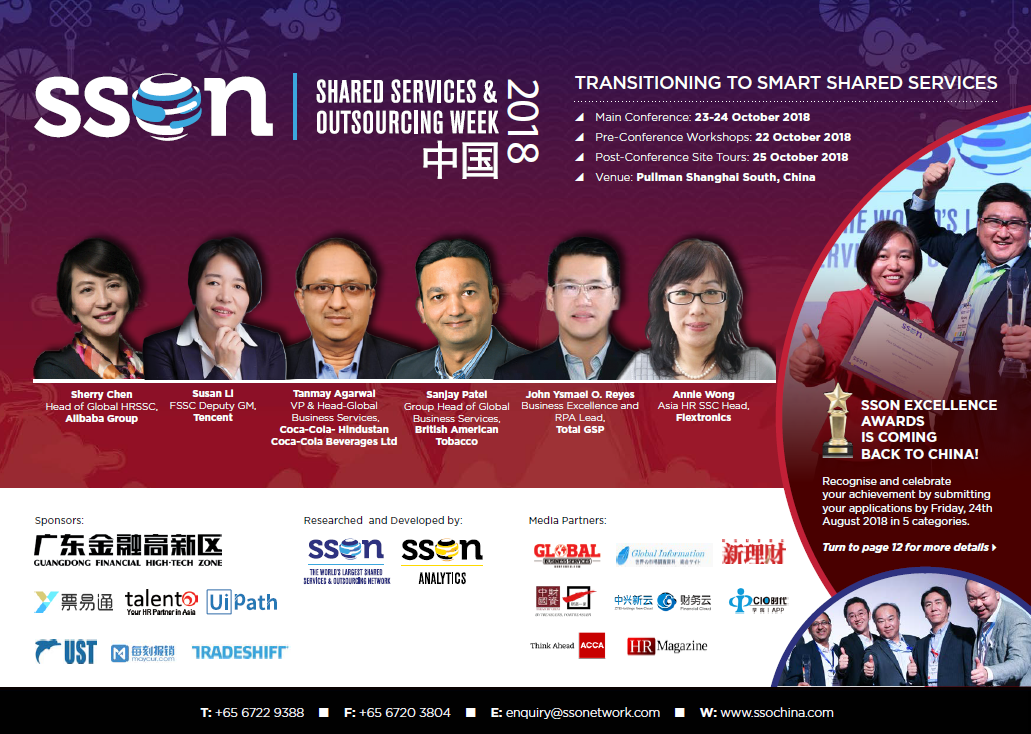 Shared Services and Outsourcing China Brochure 2018