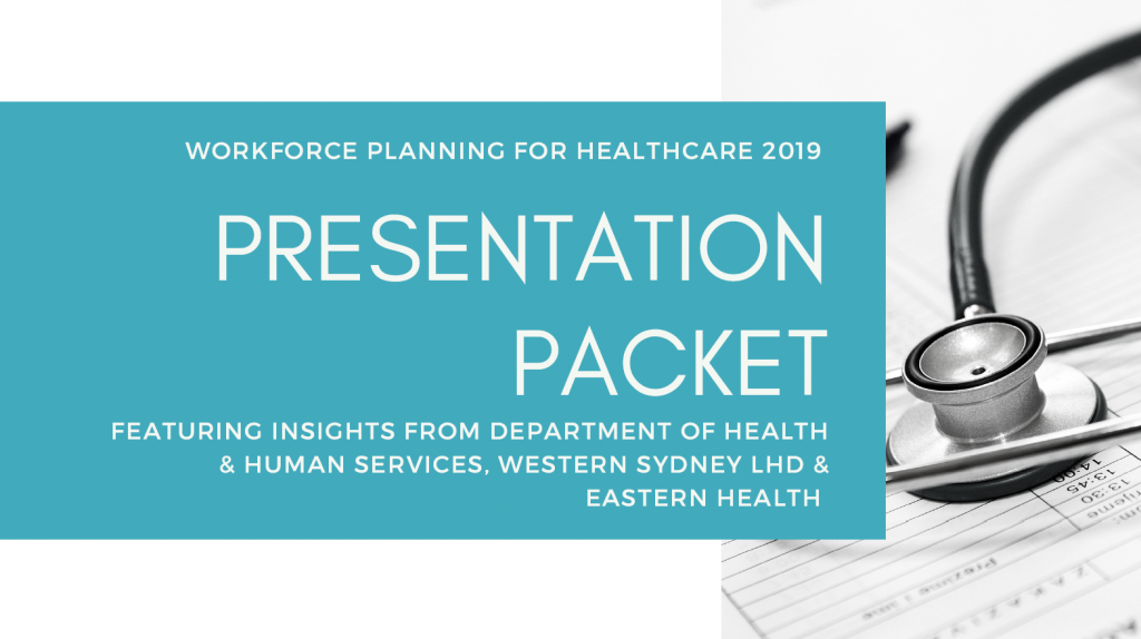 Workforce Planning for Healthcare | Presentation Packet