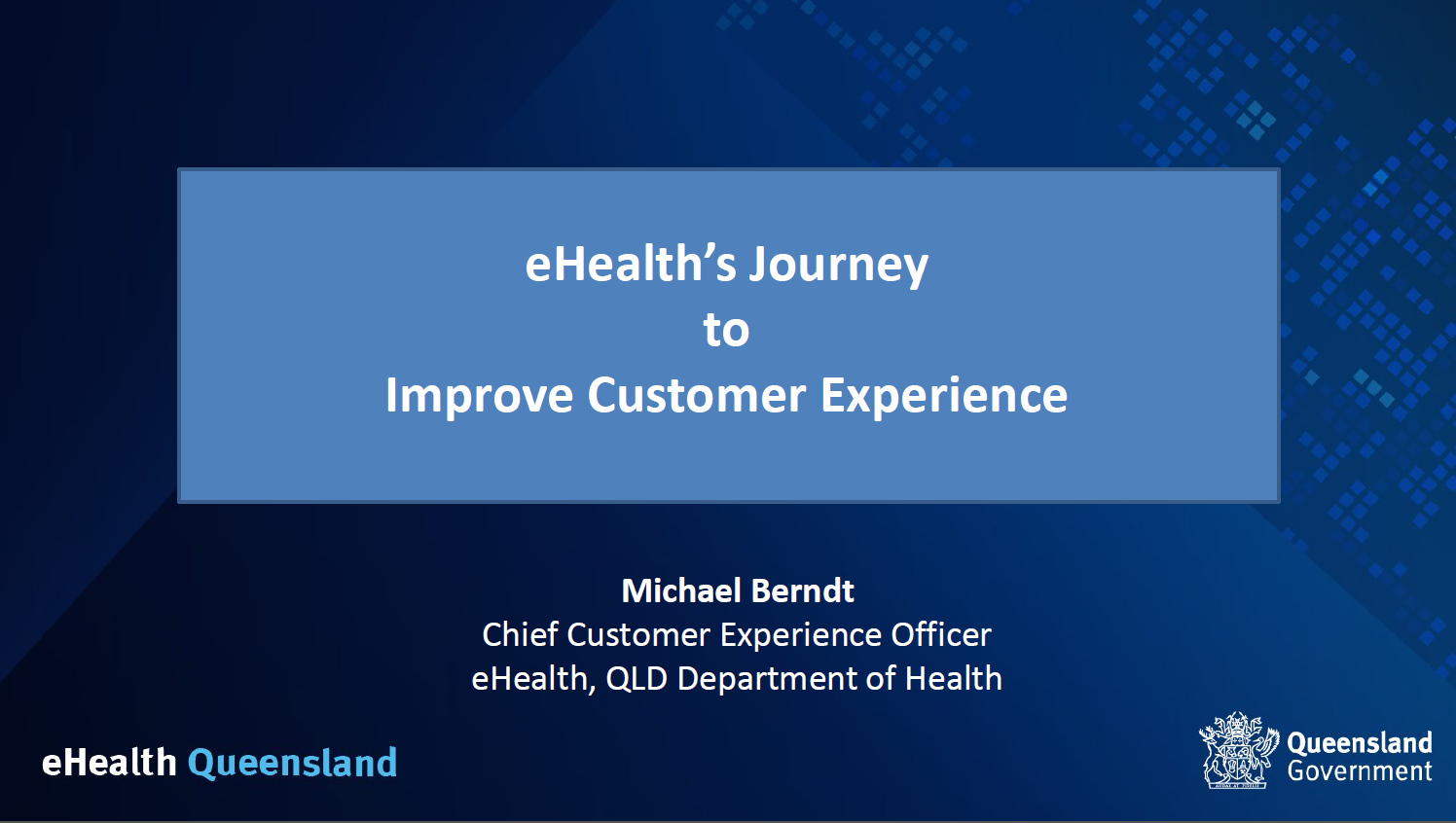 eHealth's Journey to Improve Customer Experience