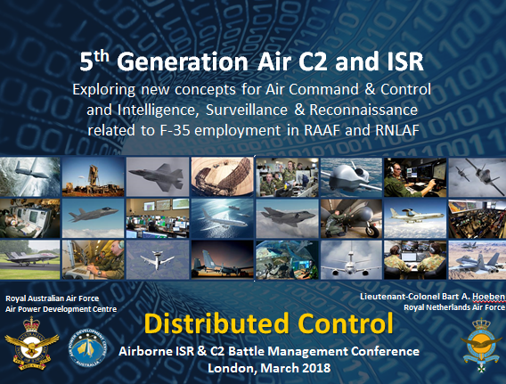 Past Presentation: Exploring new concepts for Air Command & Control  and Intelligence, Surveillance & Reconnaissance