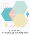 Experience Design Week Expected Attendee Breakdown