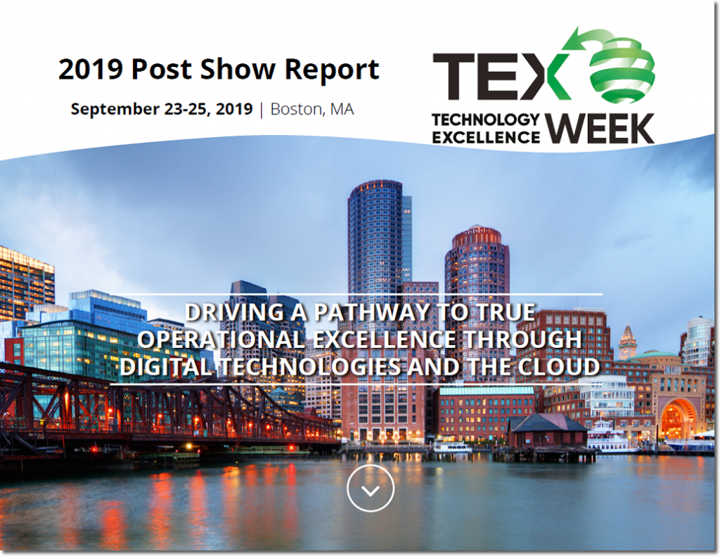Technology Excellence Week 2019 Show Report