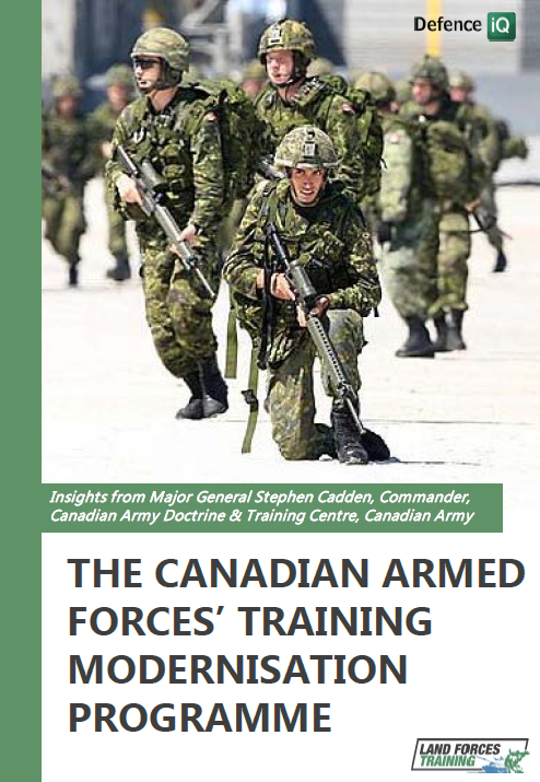 The Canadian Armed Forces' training modernisation programme