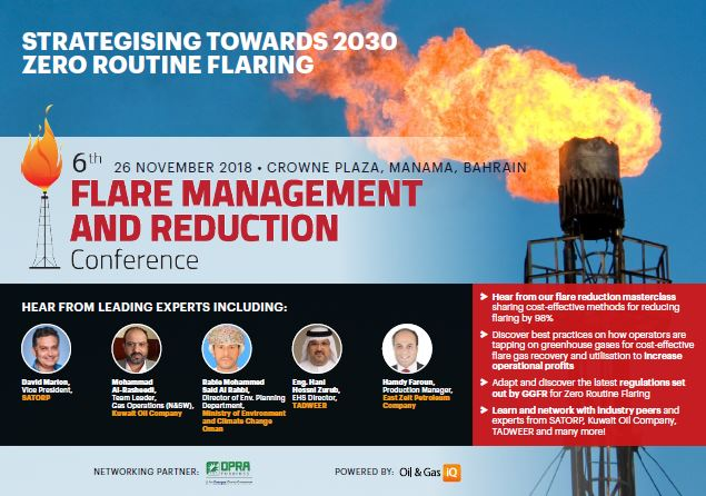Agenda - 6th Flare Management and Reduction Conference
