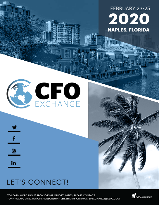 View the 13th CFO Exchange Sponsorship Brochure