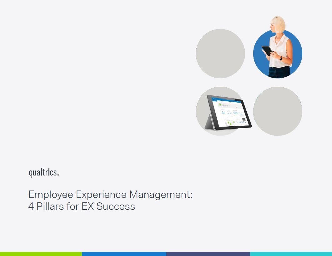 Employee Experience Management: 4 Pillars for EX Success e-Book