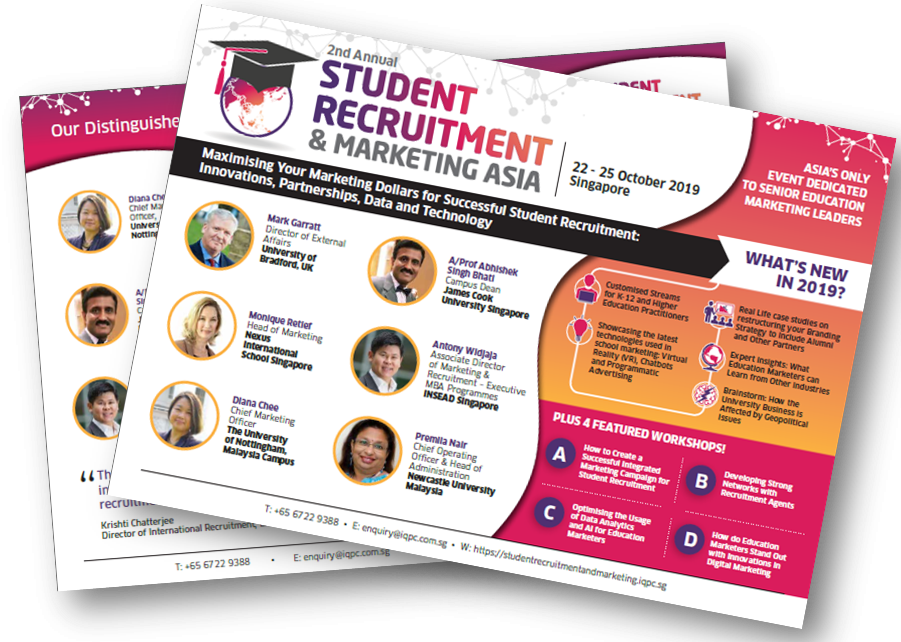 Student Recruitment and Marketing Asia 2019