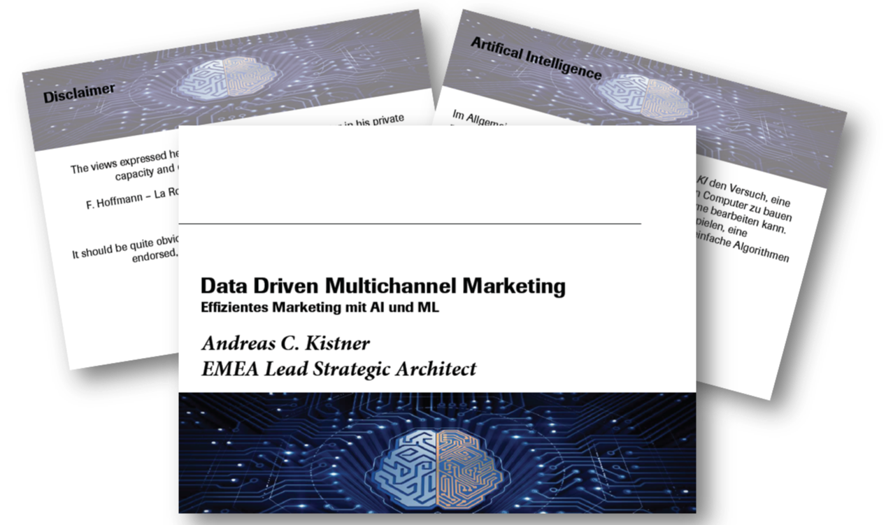 Data Driven Multichannel Marketing - eine Präsentation von F.Hoffmann-La Roche