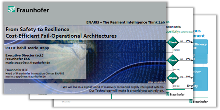 Presentation on Resilient Architectures and challenges to develop ISO 26262 Part II