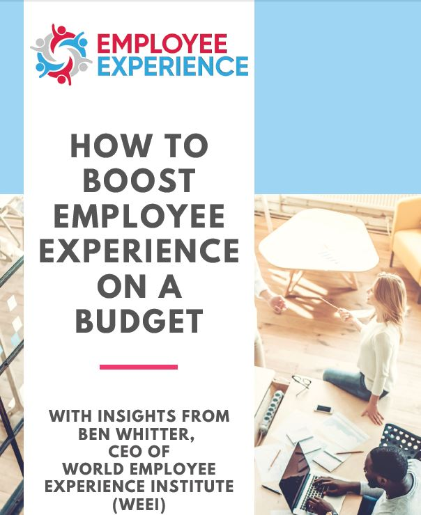 Pocket Guide: How to Boost Employee Experience on Budget
