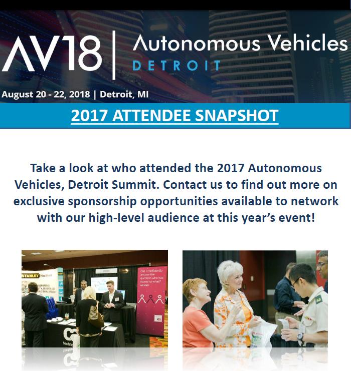2017 Attendee Snapshot