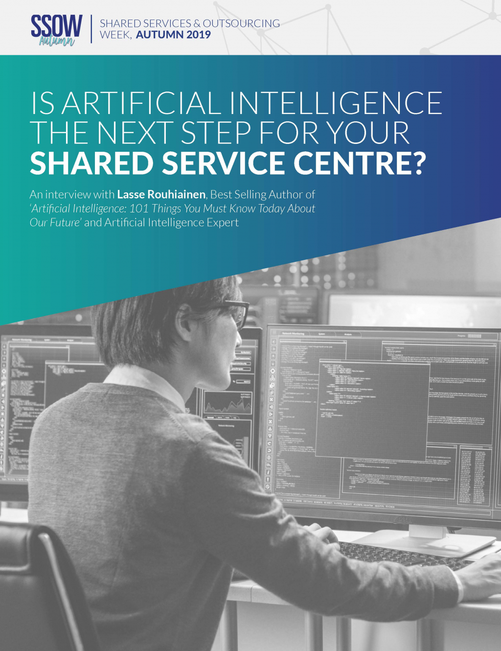 Is AI the next step for your Shared Service Centre | An interview with Laisse Rouhainen