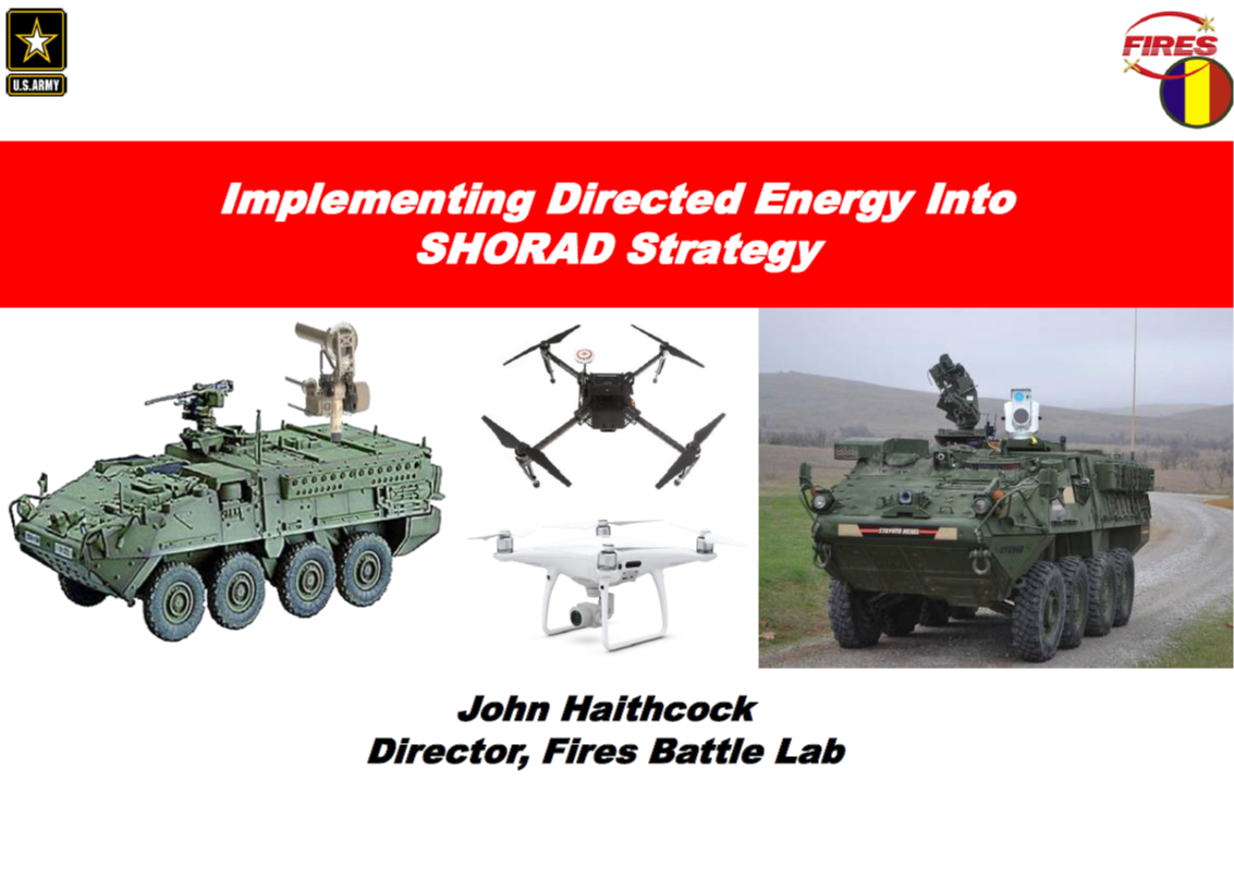 Implementing DES Into the Shorad Strategy to Counter Group 1 UAS