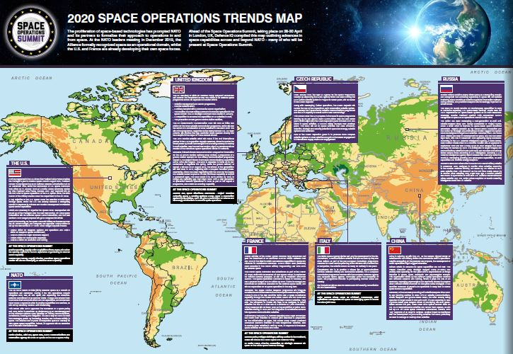 2020 Space Operations Trends Map