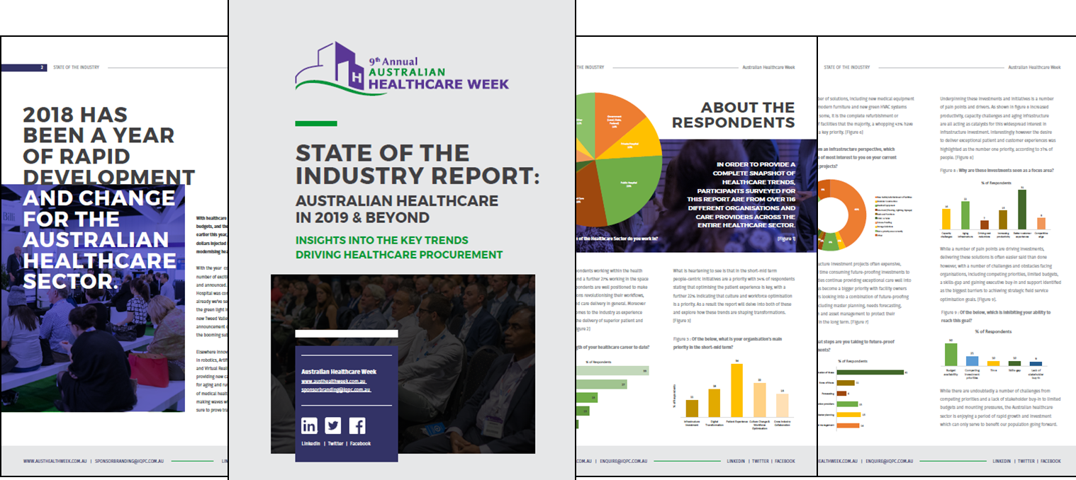 State of the Industry Report: Australian Healthcare in 2019 & Beyond - Insights into the Key Trends Driving Healthcare Procurement