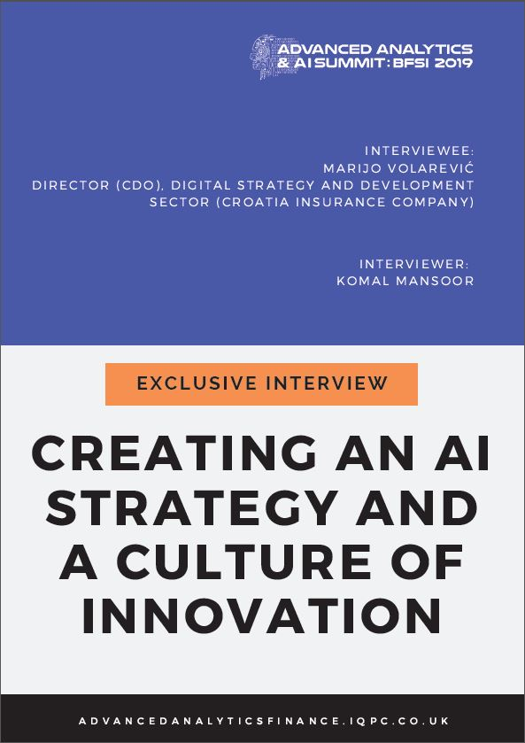 Exclusive Interview: Creating an AI Strategy and a Culture of Innovation