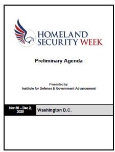 Homeland Security Week 2020 Preliminary Agenda