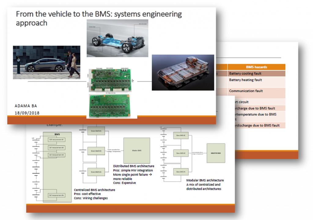 Samsung SDI Presentation: From the Vehicle to the BMS - How Systems Engineering can Reduce the Cost of Development