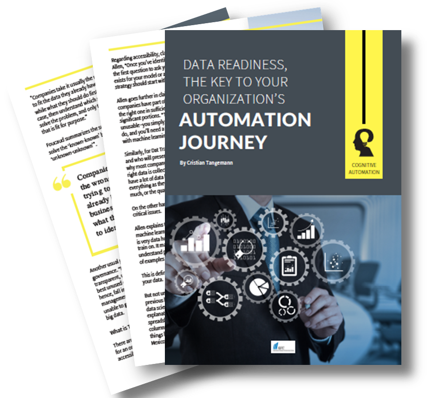 Data Readiness, the key to your organization's automation journey