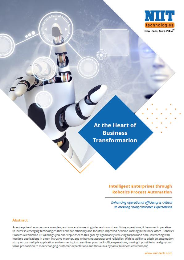 Building Intelligent Enterprises: Embarking on Your RPA Journey