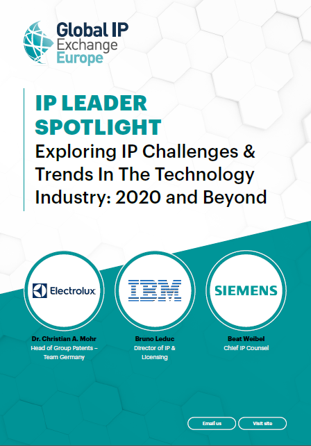 IP Leader Spotlight | Exploring IP Challenges & Trends In The Technology Industry: 2020 and Beyond