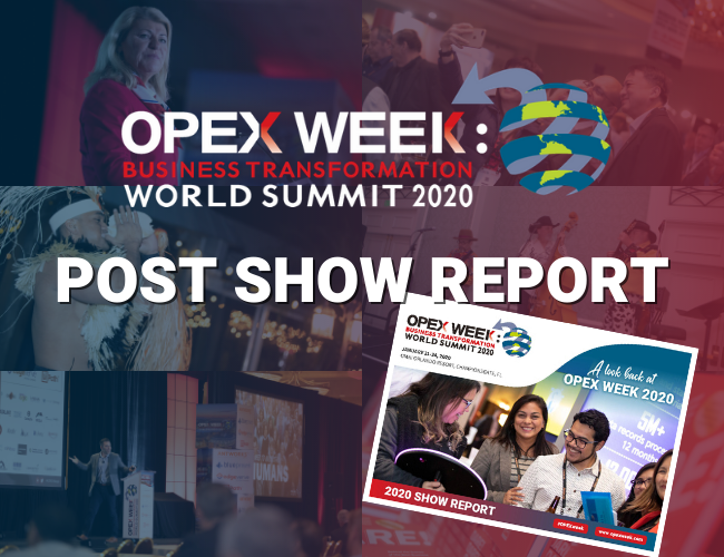 OPEX Week 2020 Post Show Report