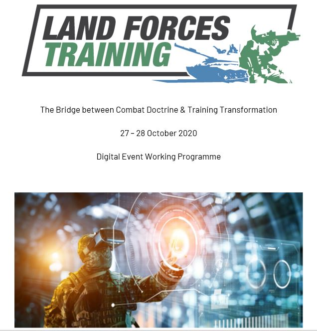 Download The Agenda | Land Forces Training Digital