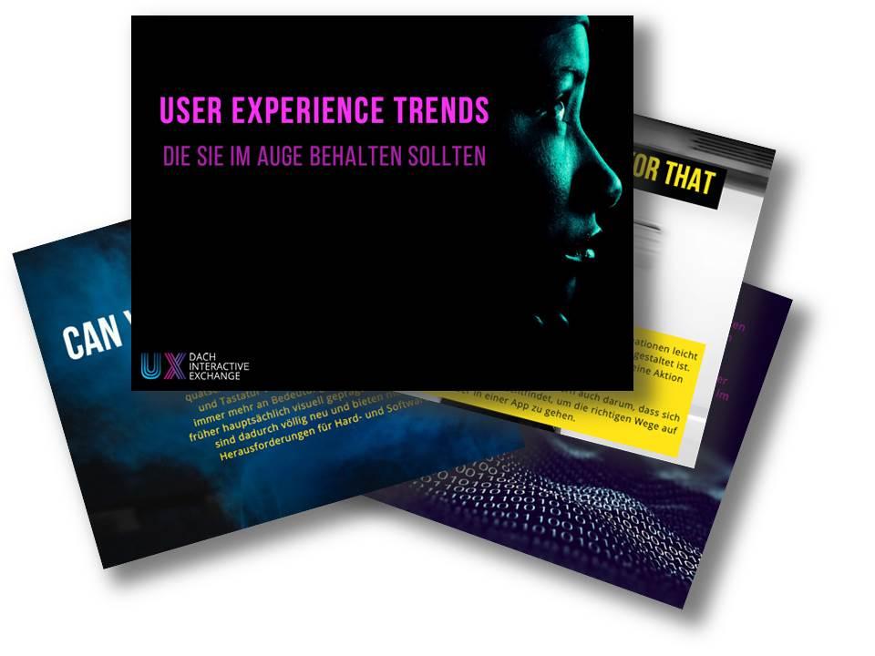 5 UX Trends, die Sie im Auge behalten sollten